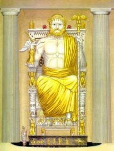 Статуя Зевсу в Олімпії